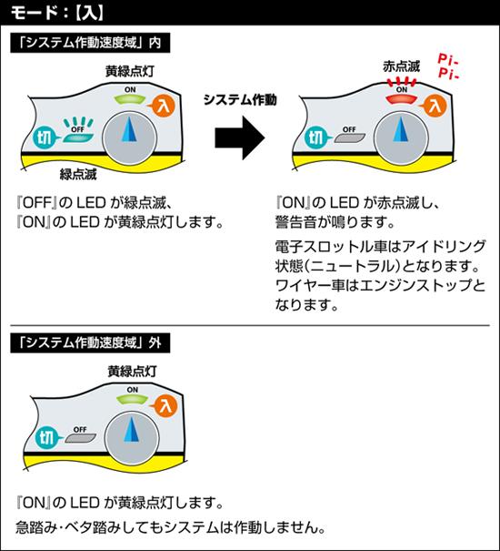 S-DRIVE 誤発進防止システム